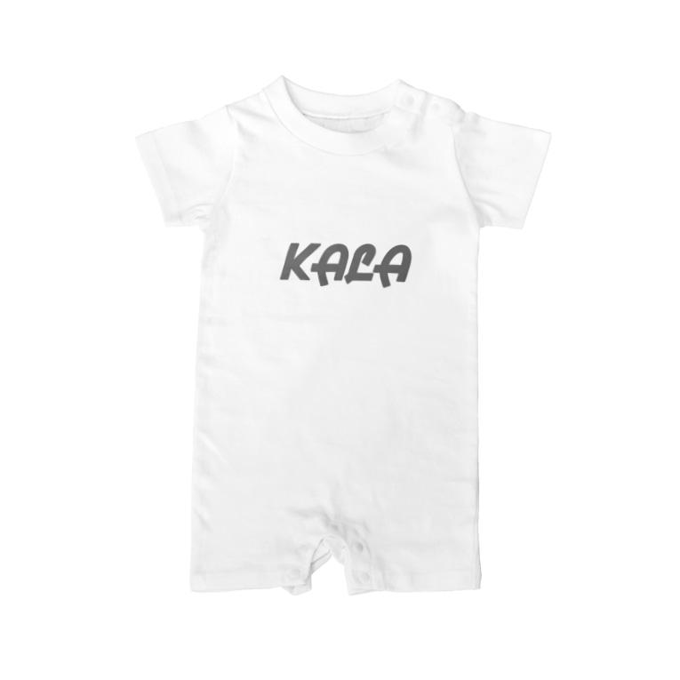 KALAのKALAロゴ入りアイテム Baby rompers