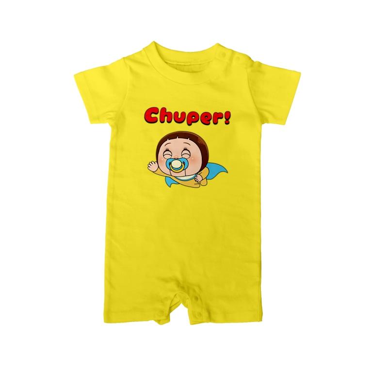 AKIRAMBOWのChuper! Baby rompers