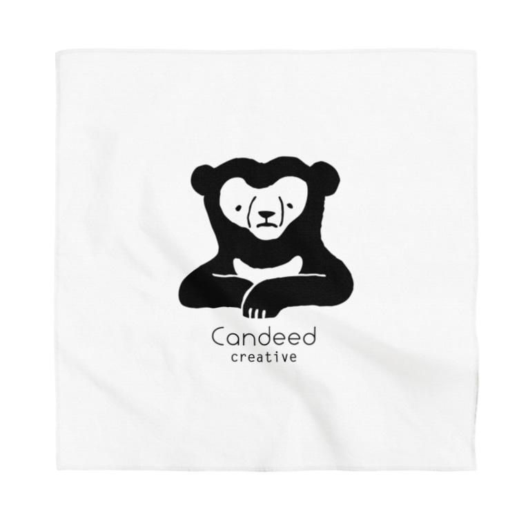 Candeed Creativeのマレーグマ(ロゴあり) Bandana