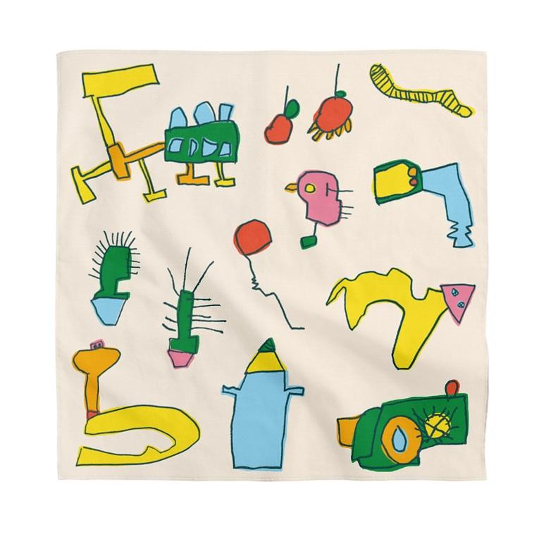 MNLOPの4歳児の絵 Bandana