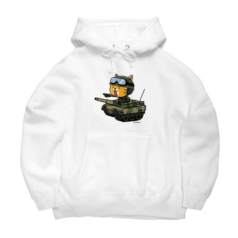 hitohana*+α《ヒトハナ+α》のネコマル式戦車 Big Hoodies