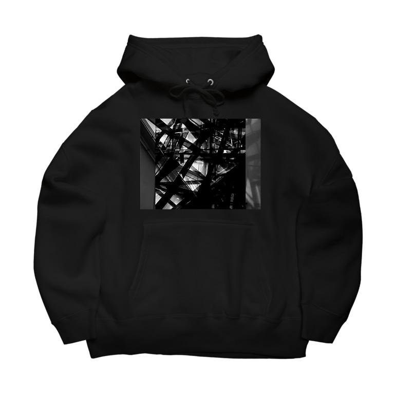 CTRL shopのFederim graphic Big Hoodies