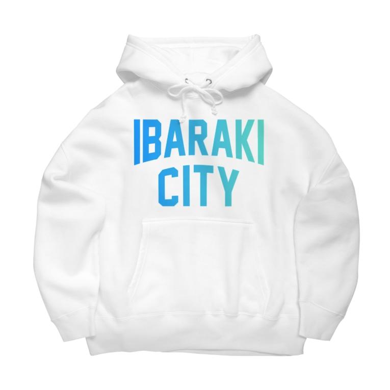 JIMOTO Wear Local Japanの茨木市 IBARAKI CITY Big Hoodies