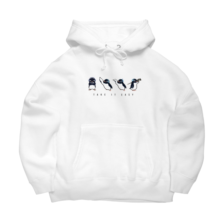"""T.I.E STOREのFacial Expression """"Ru"""" by PRiZE Big Hoodie"""