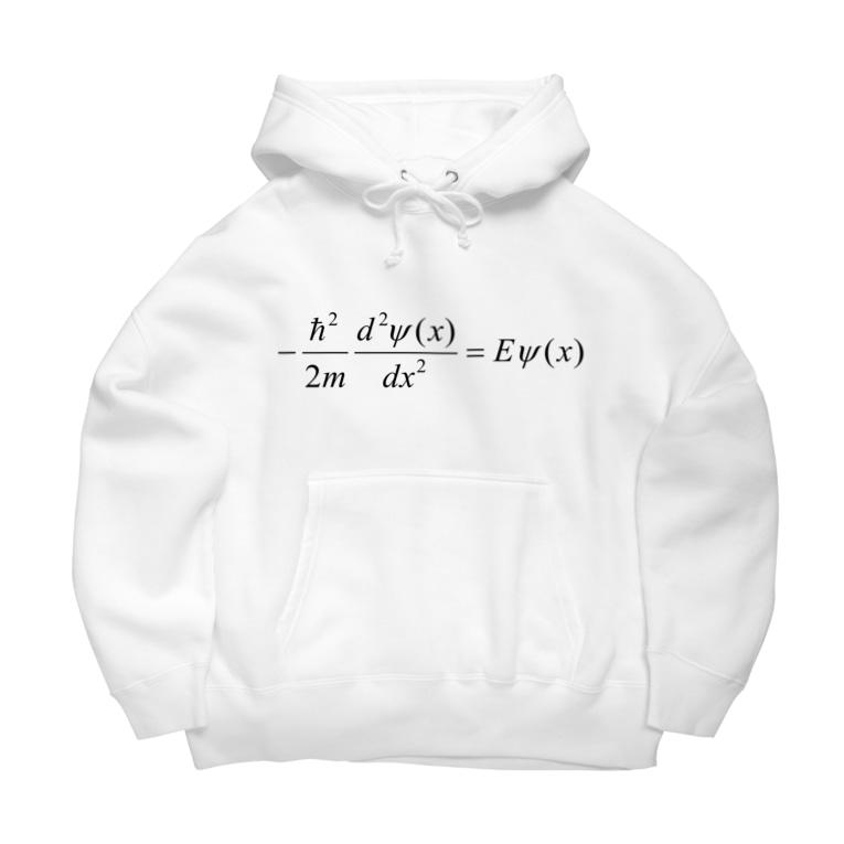 FCLBRの1次元の時間を含まないシュレディンガー方程式 Big Hoodies
