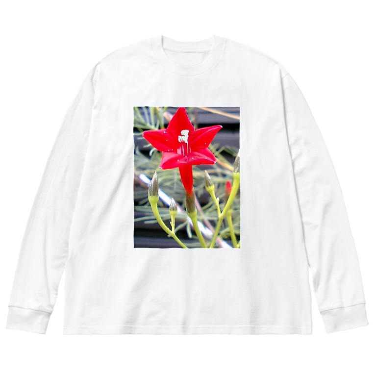 Dreamscapeの思い出・・・開いて・・・ Big silhouette long sleeve T-shirts