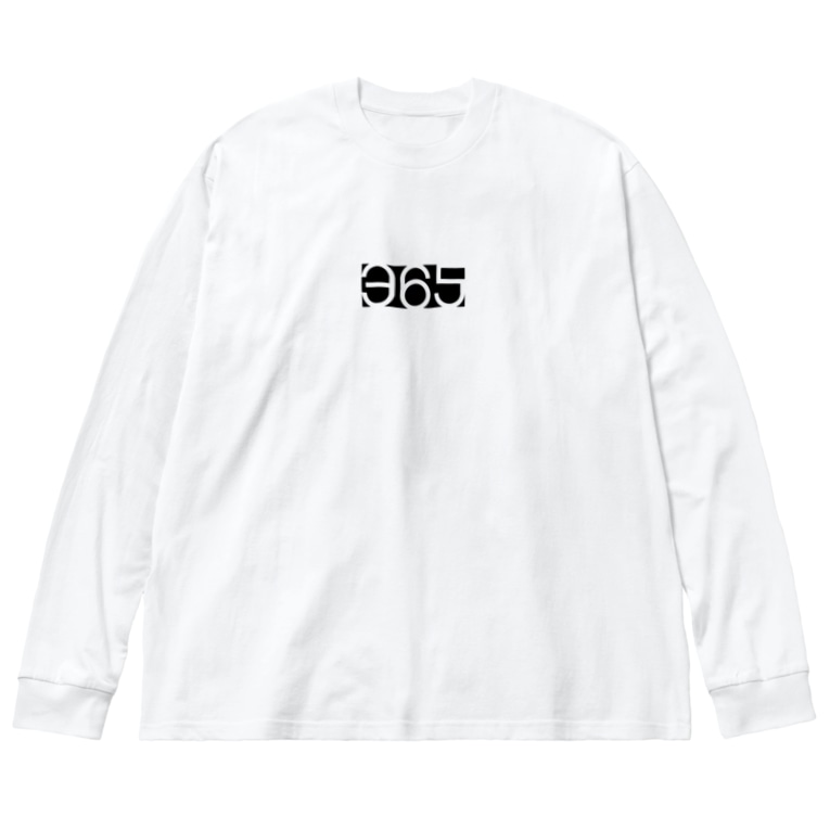365 days projectの365Tシャツ 02 Big silhouette long sleeve T-shirts