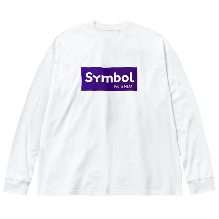 antartのsymbol Big silhouette long sleeve T-shirts