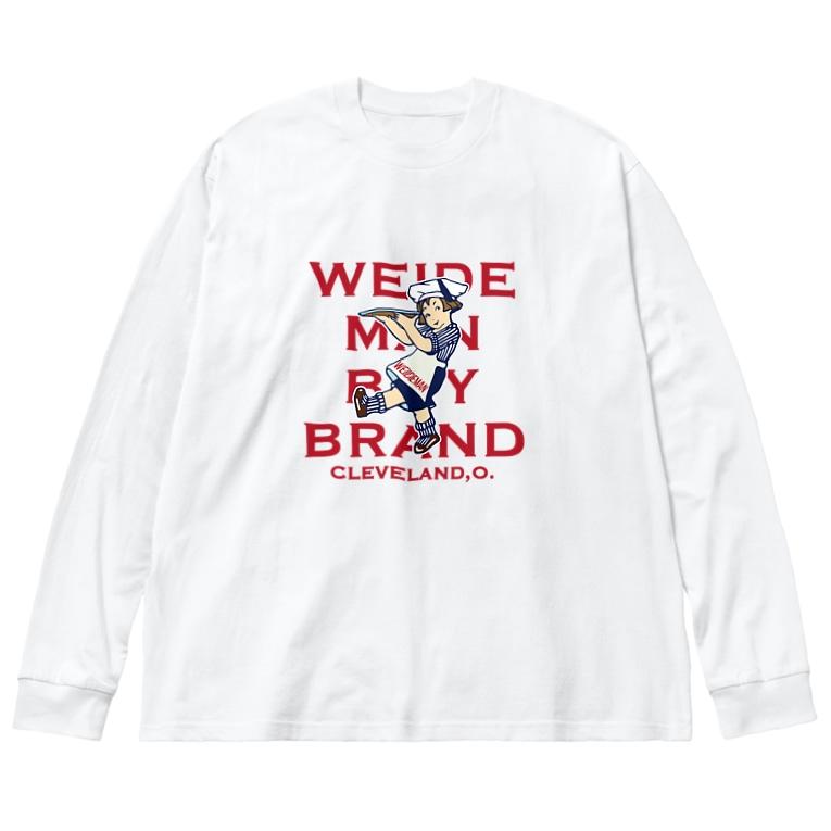 Bunny Robber GRPCのWEIDEMAN BOY BRAND Big silhouette long sleeve T-shirts