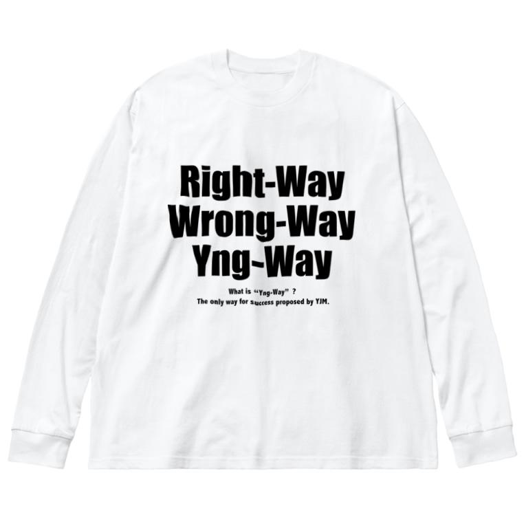 IBARAKI G3の小遣い稼ぎのYng-Way俺のやり方 Big Silhouette Long Sleeve T-Shirt