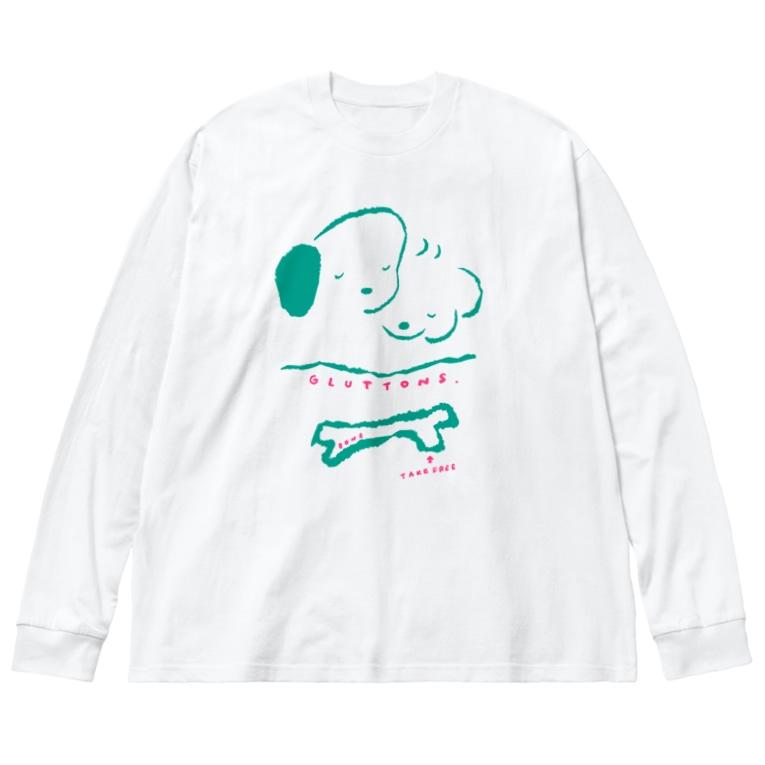 穂の湯のGULTTONS Big silhouette long sleeve T-shirts
