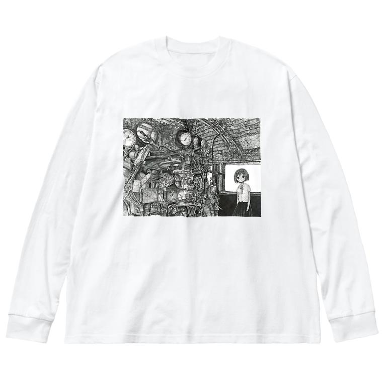 始発ちゃんのC58389 Big Long Sleeve T-shirt