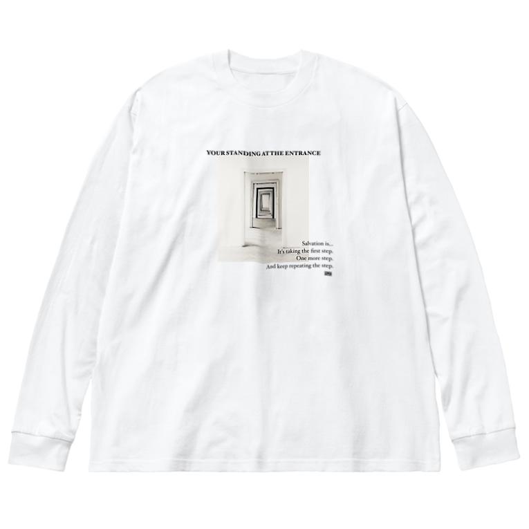 肉遊の曹源一適水  Big Long Sleeve T-shirt