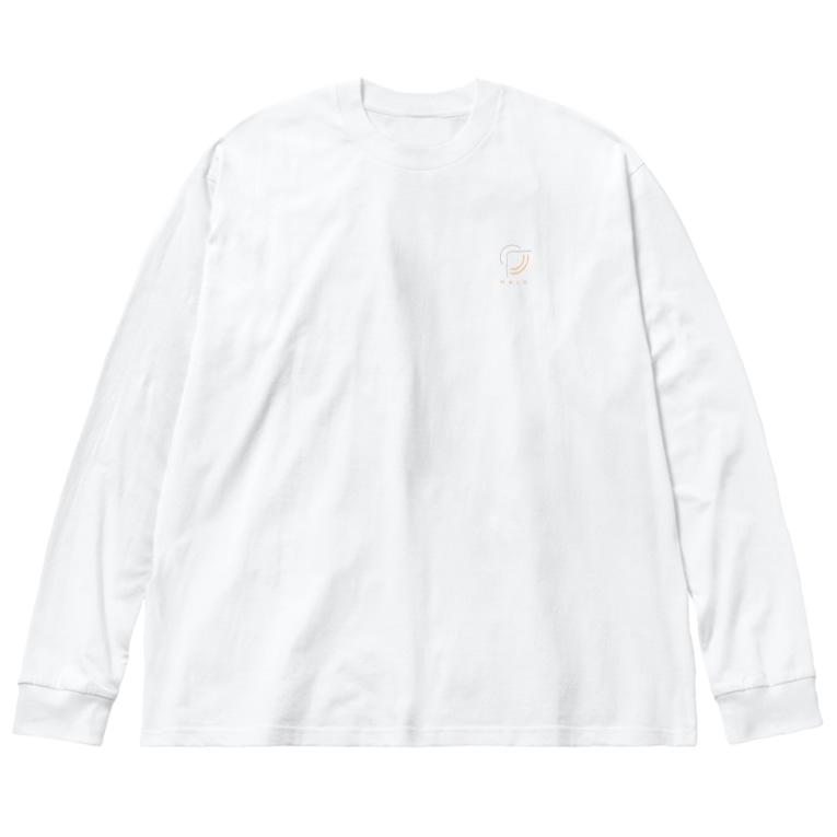 SHOP_of_TKのHALO Big Long Sleeve T-shirt