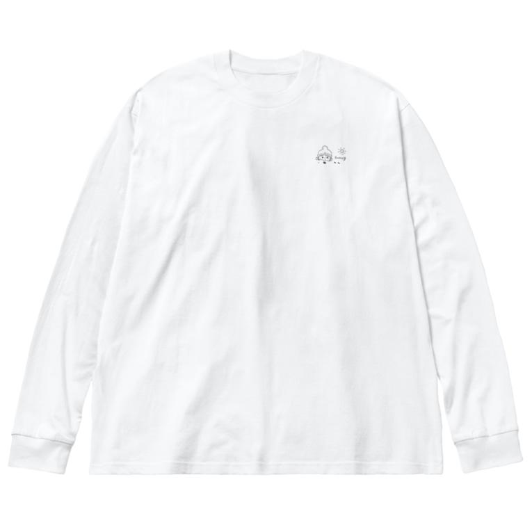 mixmilkmeのオダンゴ Big Silhouette Long Sleeve T-Shirt