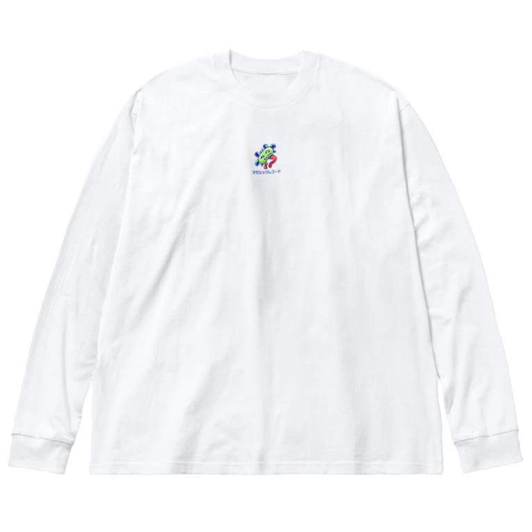 TKAKURAKAZUKI_PRINTOUTのアカシックレコード Big silhouette long sleeve T-shirts