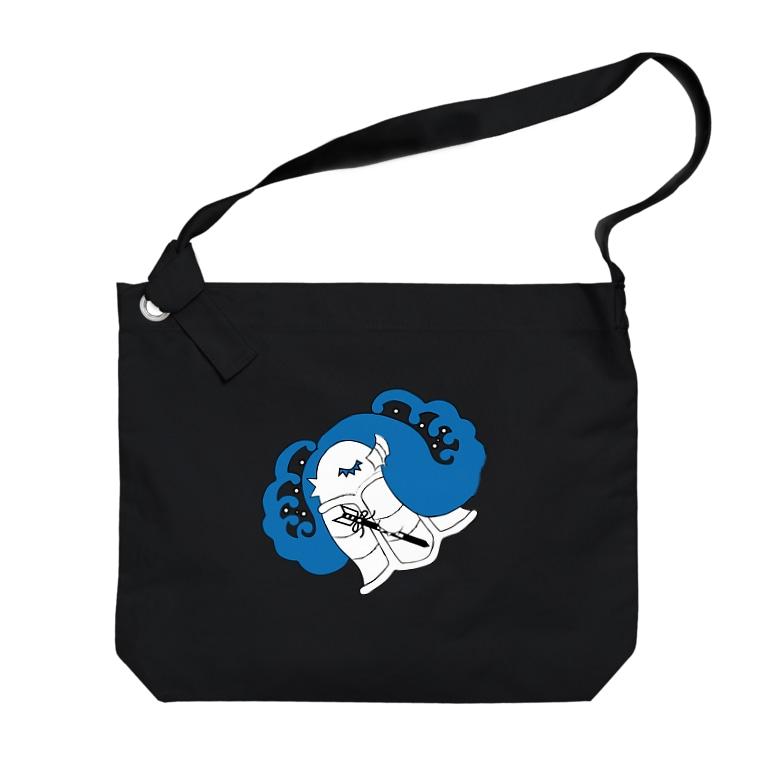 Amiの眠りのアマビエ Big Shoulder Bag
