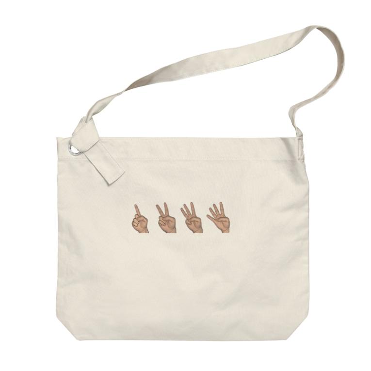 KJ_shopの4count Bag Big shoulder bags