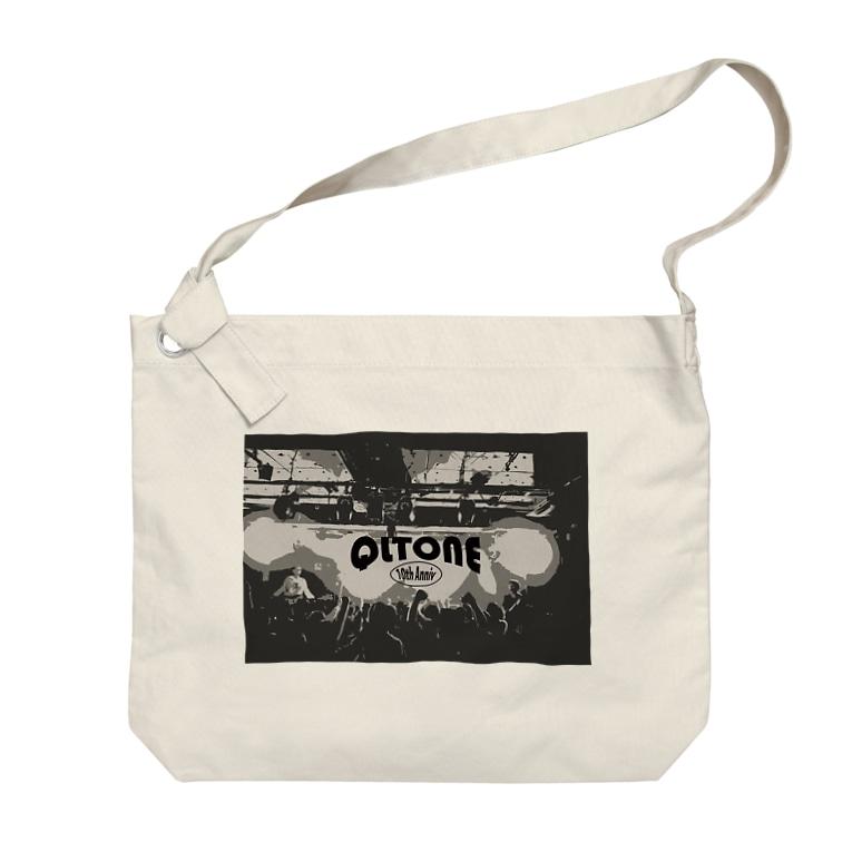 QLTONE10周年記念グッズ特設ページの白熱 Big shoulder bags
