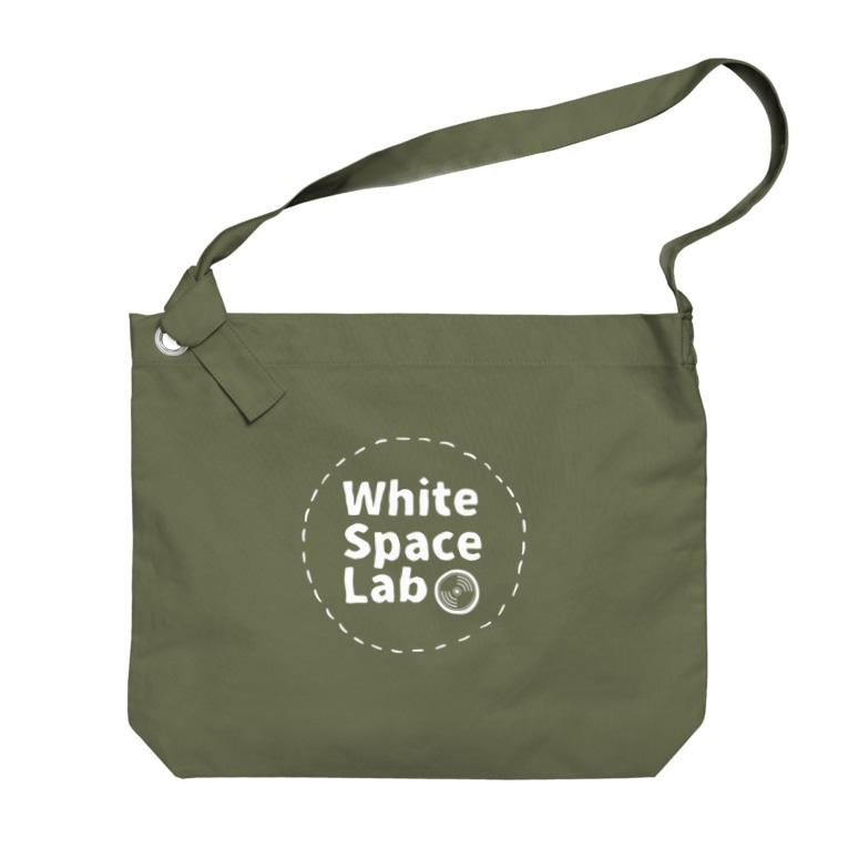 White Space Lab Online ShopのWSL LOGO Big shoulder bags