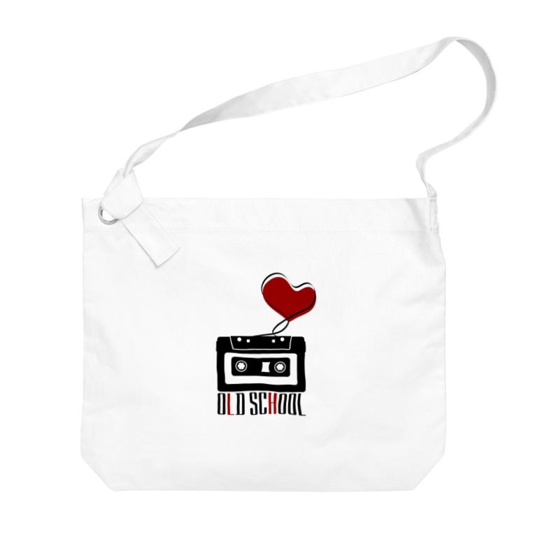 無彩色デザイン販売所のCompact Cassette / Old School Big shoulder bags