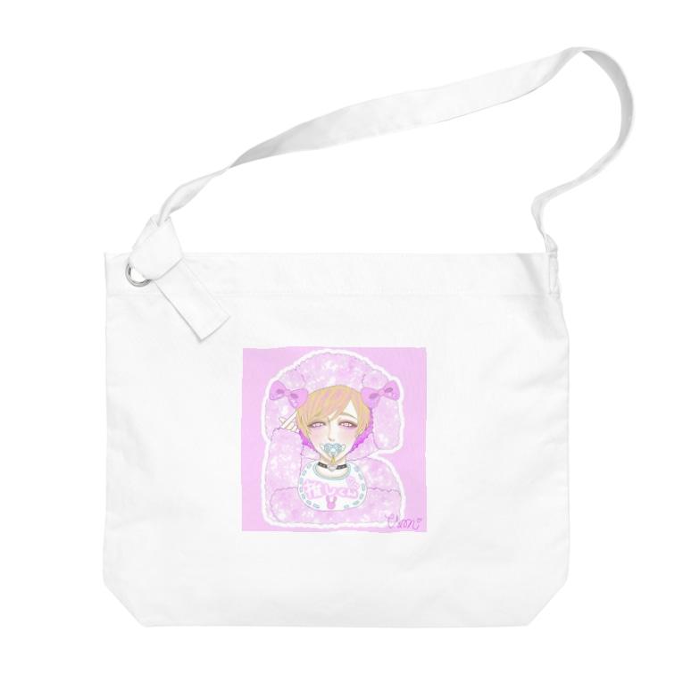 blindrabbitのblindrabbit OFFICIAL GOODS Big shoulder bags