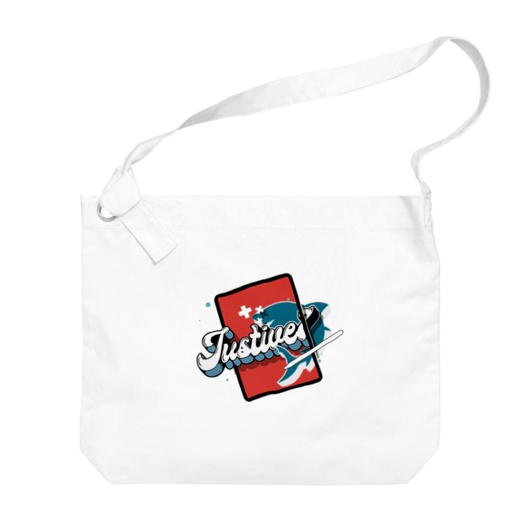 NegativeのJustive7 ビッグショルダーバッグ Big shoulder bags