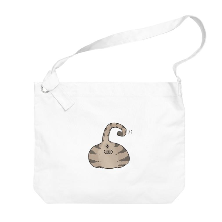 なごの猫尻 Big shoulder bags