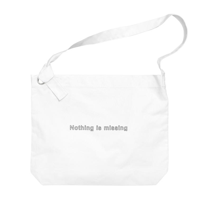Morishi's ShopのNothing is missing Big shoulder bags