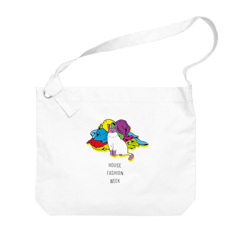 猫ざんまいのねこコレクション Big shoulder bags