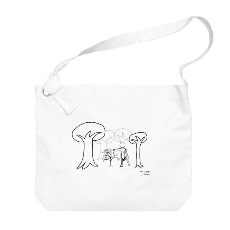 Tim-IllustrationのTim‐Hope2 Big shoulder bags