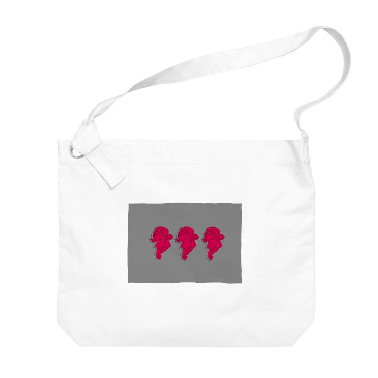Yoriのベーとーべん Big shoulder bags