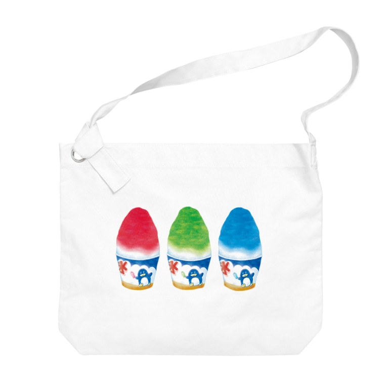 神谷みなみのかき氷 Big shoulder bags