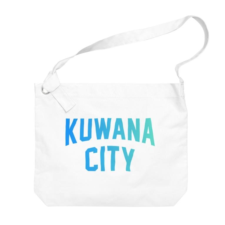 JIMOTO Wear Local Japanの桑名市 KUWANA CITY Big shoulder bags