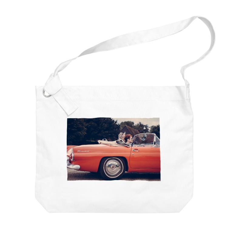 AkasakaBase - アカサカベースのOpen Car Big shoulder bags