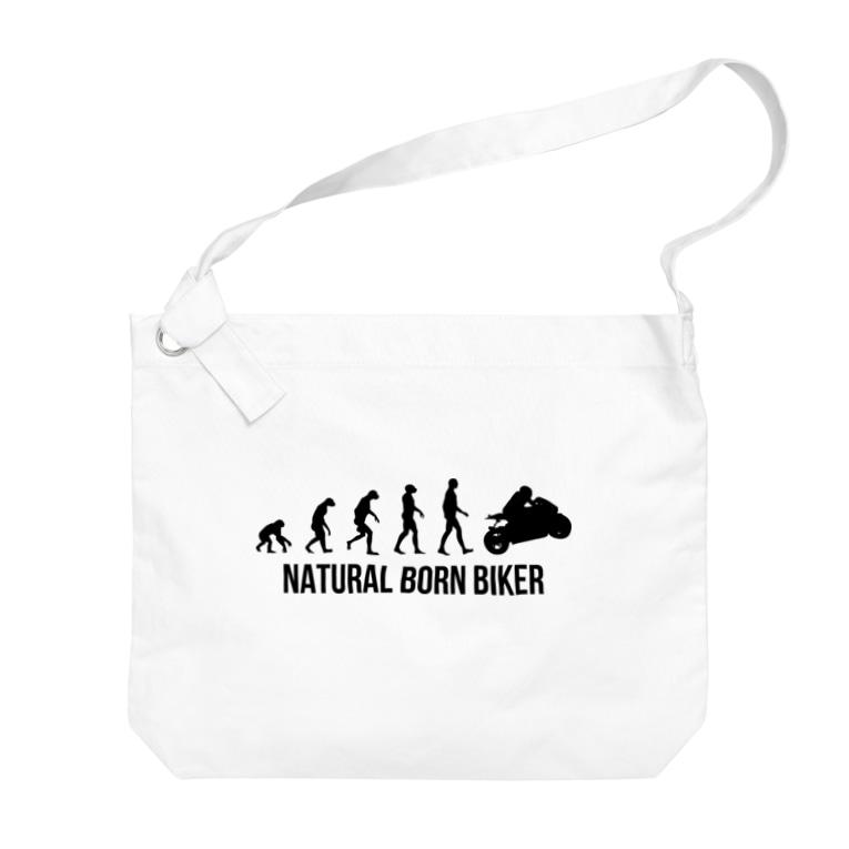 SCC DESIGN WORKSのNATURAL BORN BIKER Big shoulder bags