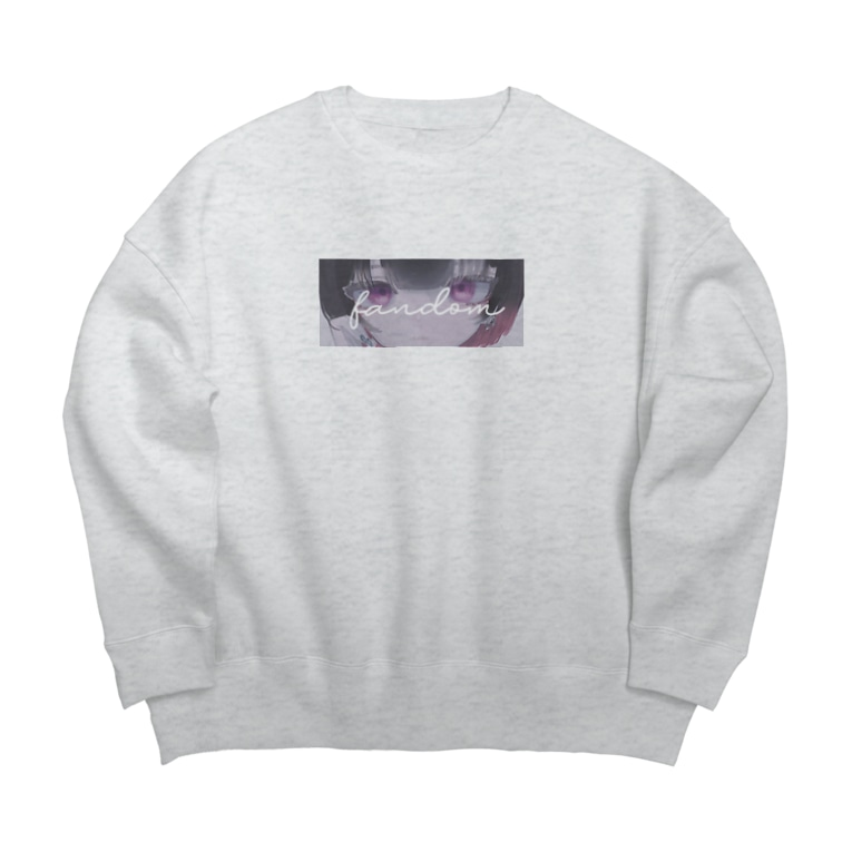北千住千洋 / Chihiro Kitasenjuのfandom 【北千住千洋OfficialGoods】 Big silhouette sweats