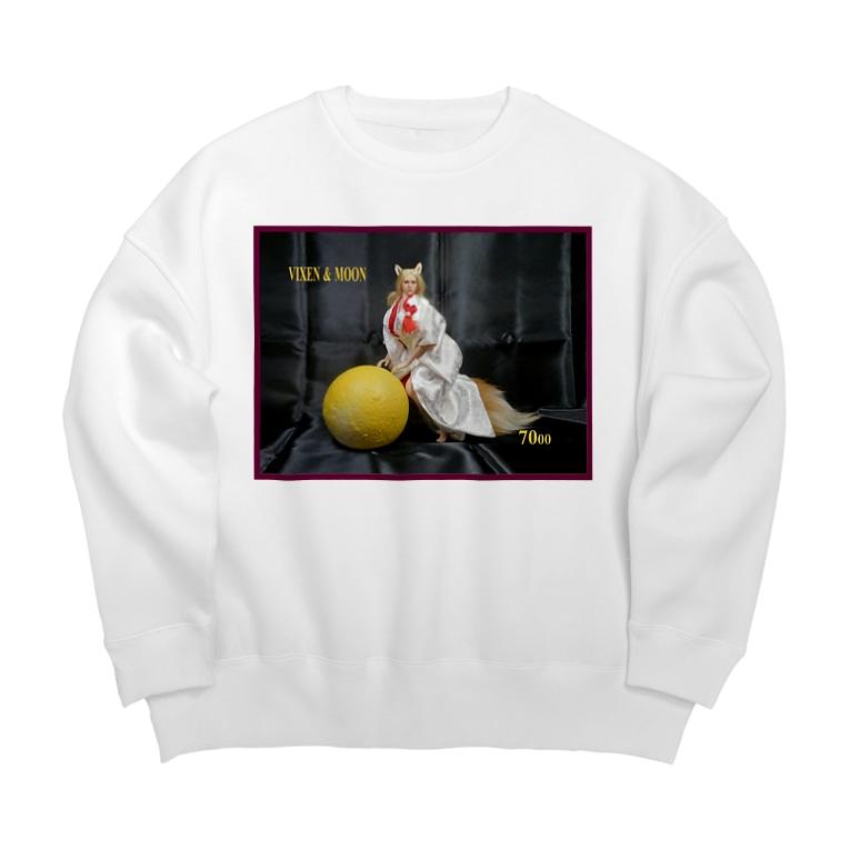FUCHSGOLDのドール写真:月を捉えたブロンドの女狐 Doll picture: Blonde Vixen gets the moon Big silhouette sweats