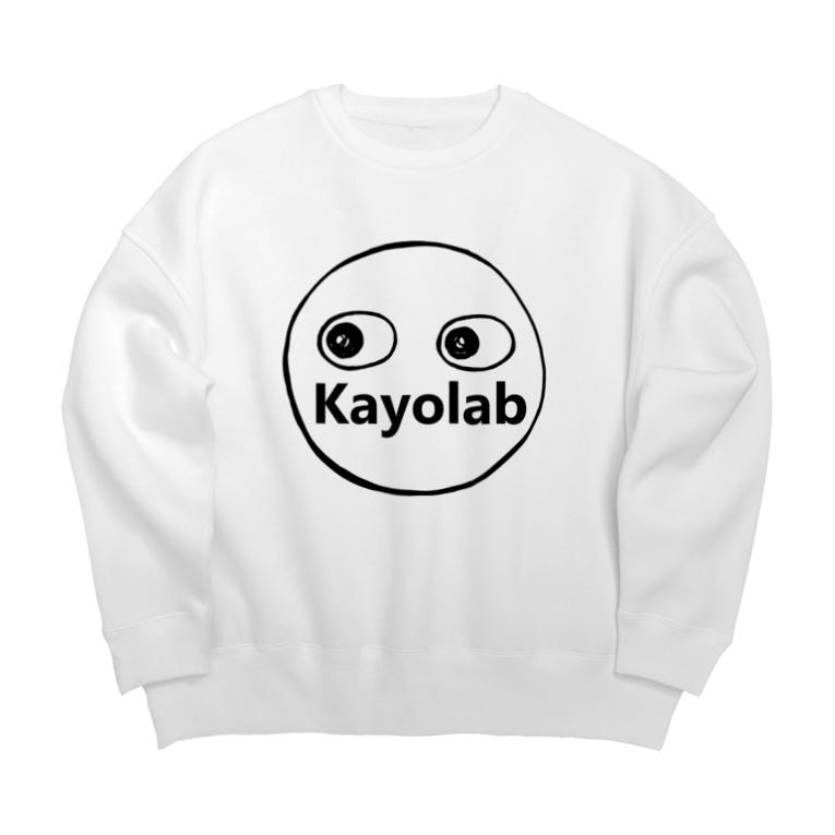 カヨラボ スズリショップのKayolabくん Big silhouette sweats