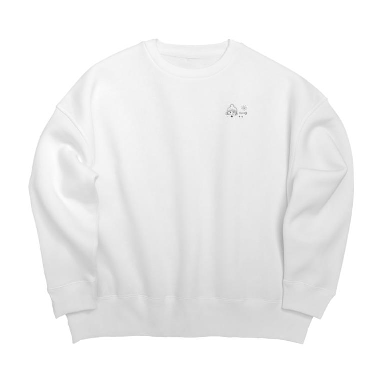 mixmilkmeのオダンゴ Big Crew Neck Sweatshirt