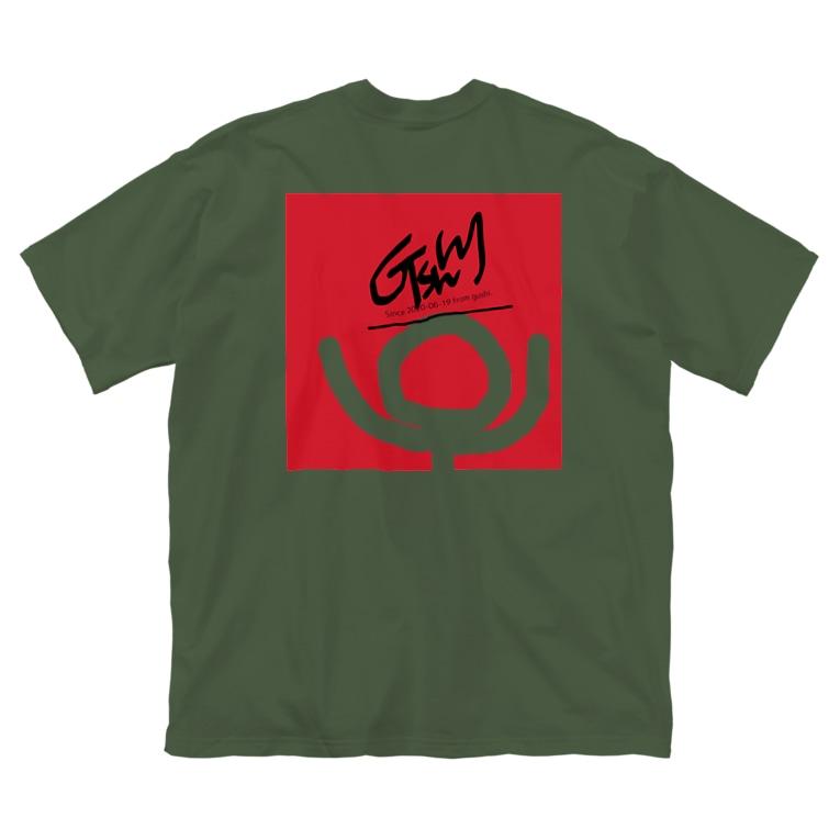 G-shyの210618 透明人間2 Big silhouette T-shirts