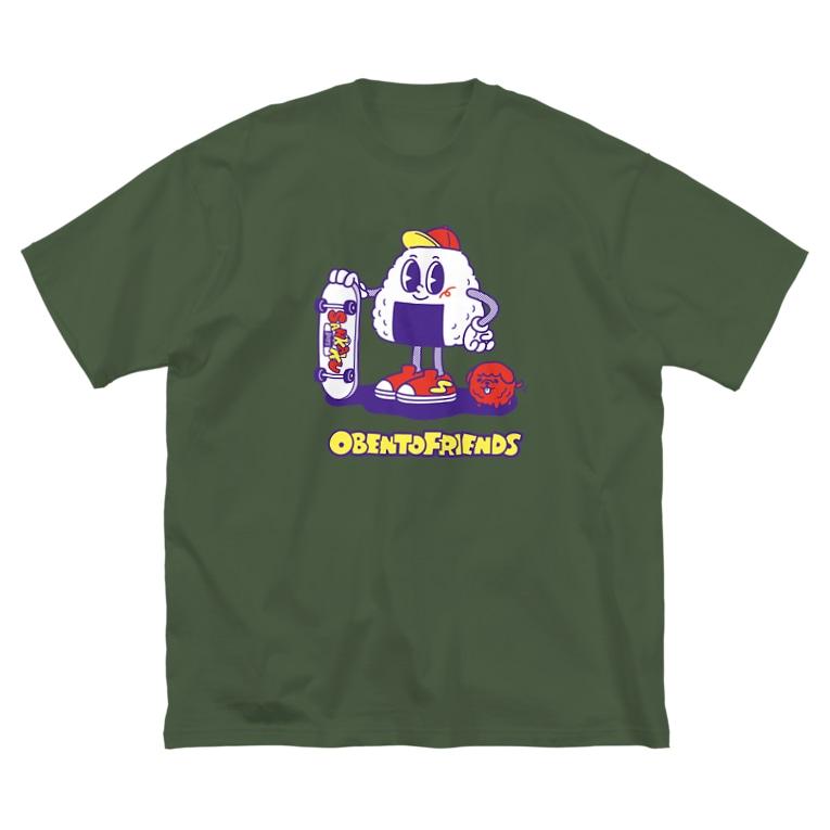 YUMEのおべんとうフレンズ Big Silhouette T-Shirt