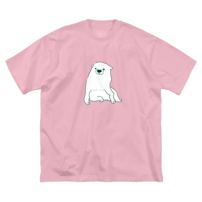 mugioのあの犬/反省(A) Big Silhouette T-Shirt