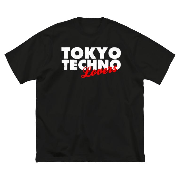 HOUSE DANCE MANIAのTOKYO TECHNO LOVERS Big silhouette T-shirts