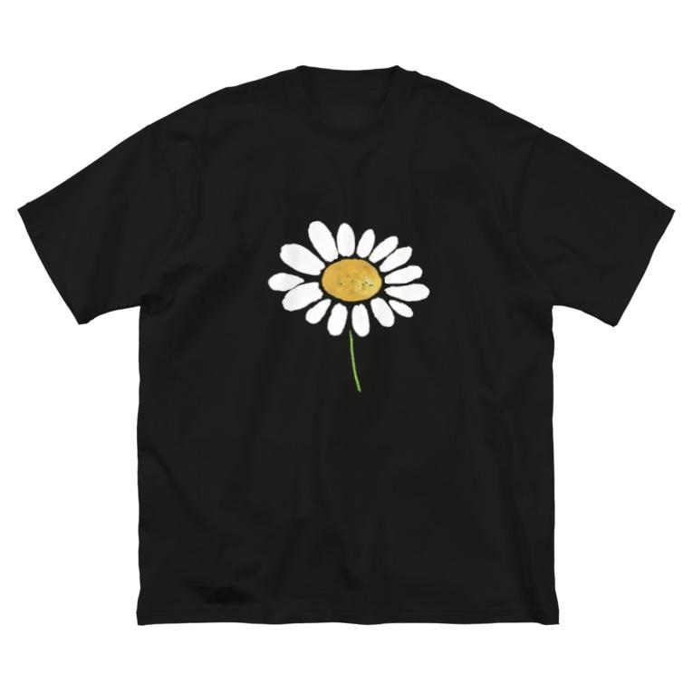 LePuyの🌼chamomile🌼 Big silhouette T-shirts