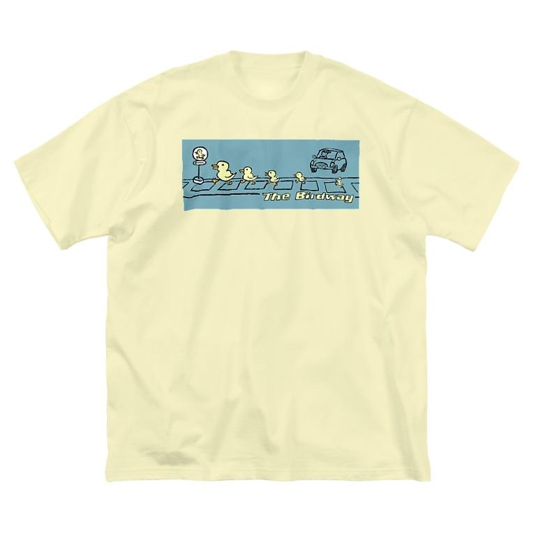 EMK SHOPSITE のthe birdway Big silhouette T-shirts
