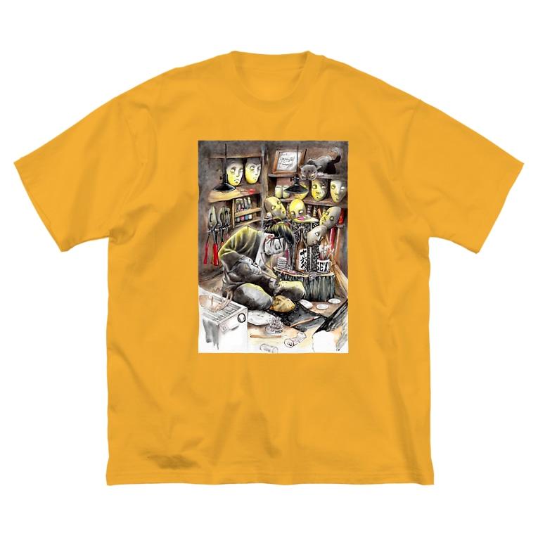 月が輝くこんな夜にの継ぐ者 Big silhouette T-shirts