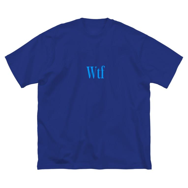 WTFのWTF Big silhouette T-shirts