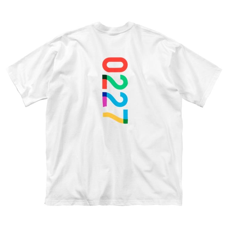 marikiroの0227 anniversary Big silhouette T-shirts