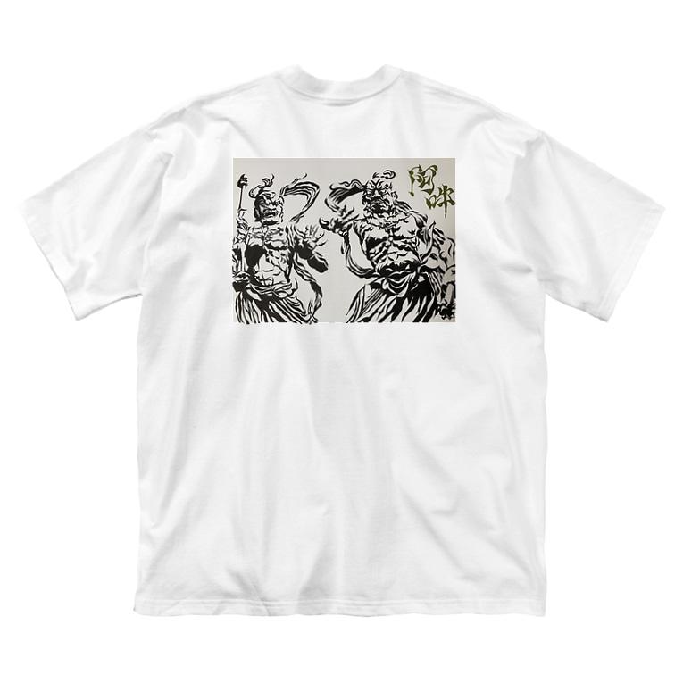 Yuu.IのYuu.I 2020/SS金剛力士 Big silhouette T-shirts